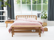 the spindle bed frame