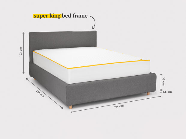 the storage bed frame
