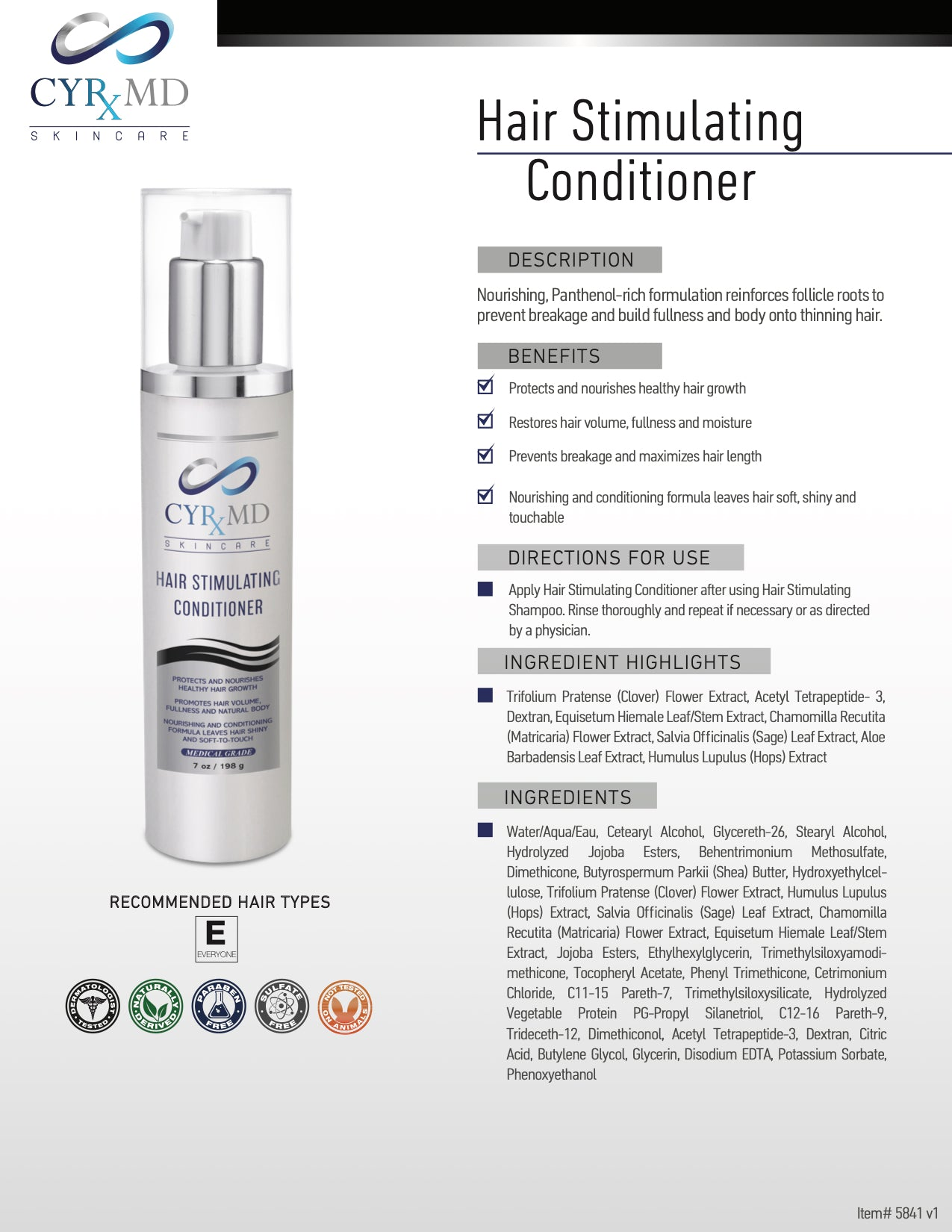 Hair Stimulating Conditioner
