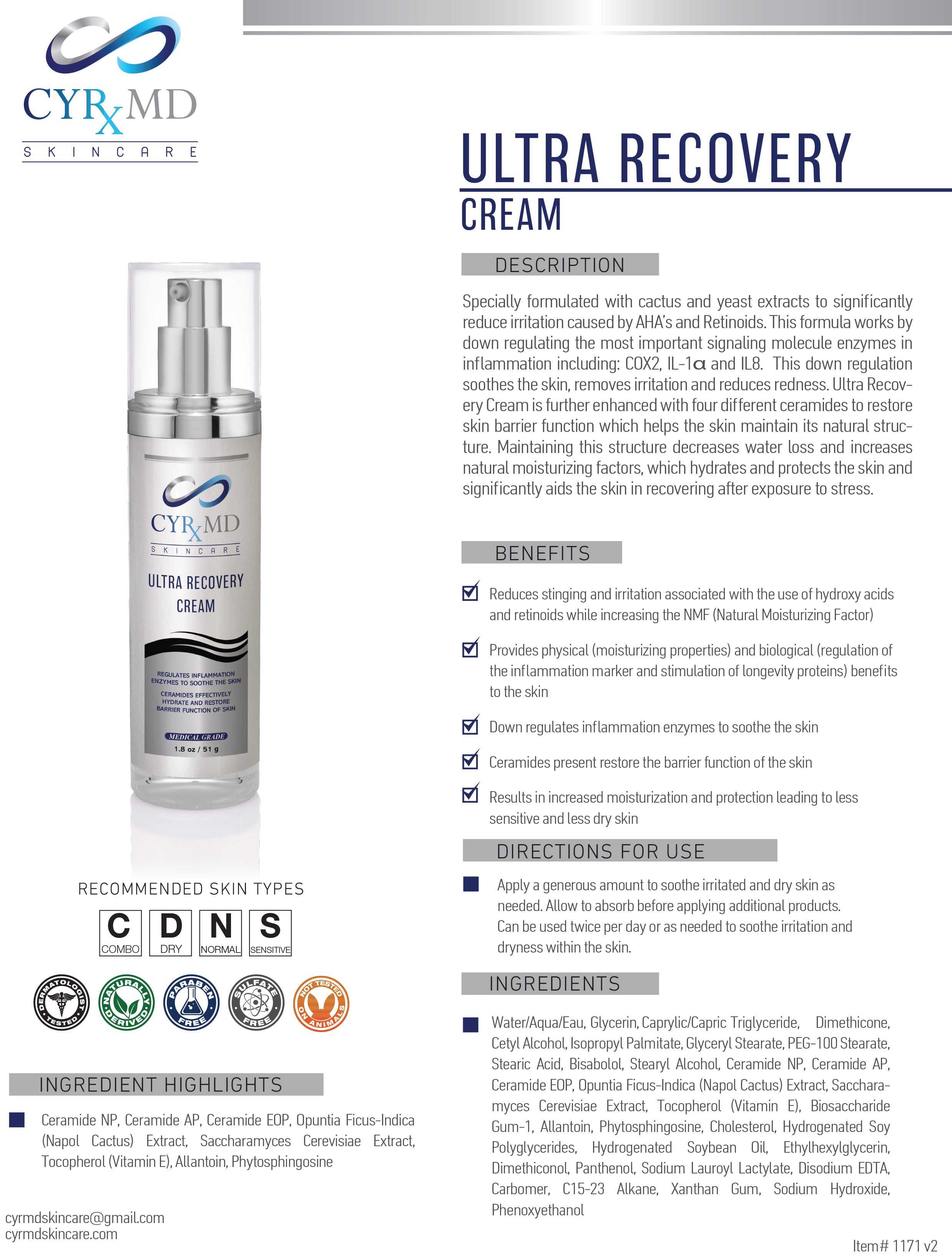 Ultra Recovery Cream