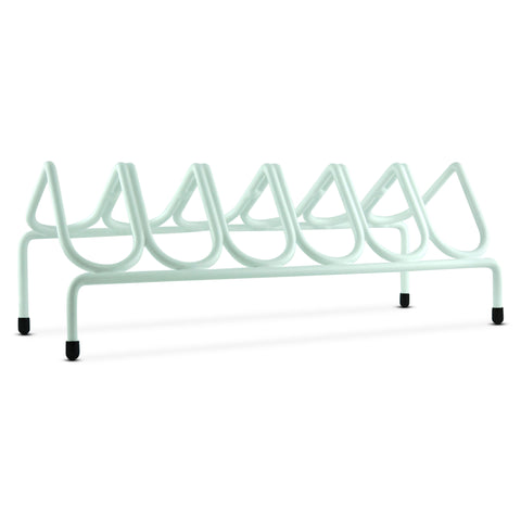 VR6 Versatile Handgun & Pistol Rack (Holds 6 Guns) Alpine White