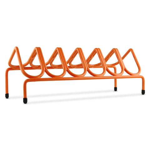 VR6 Versatile Handgun & Pistol Rack (Holds 6 Guns) Burnt Orange