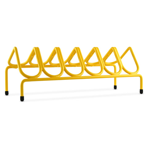 VR6 Versatile Handgun & Pistol Rack (Holds 6 Guns) Golden Yellow