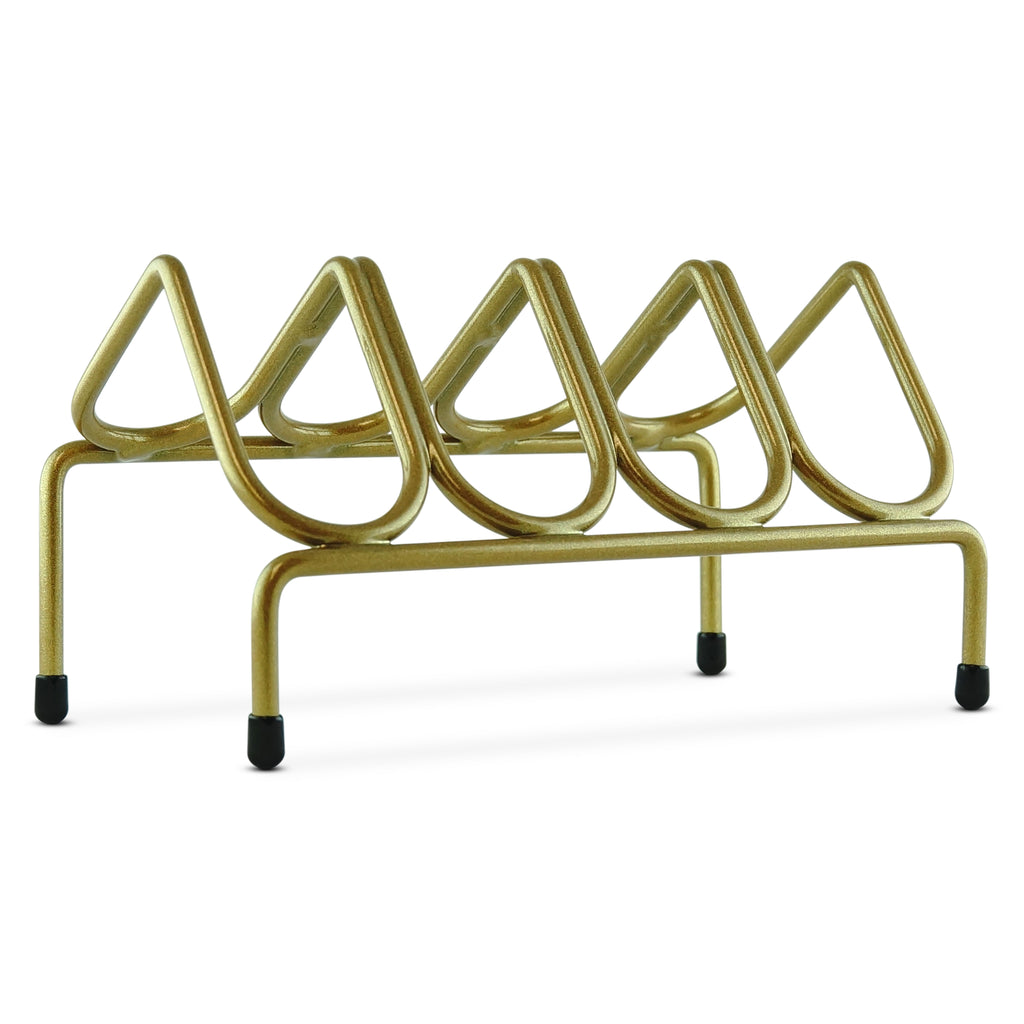 VR4 Versatile Handgun & Pistol Rack (Holds 4 Guns) Gold Metallic