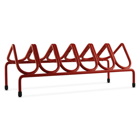 VR6 Versatile Handgun & Pistol Rack (Holds 6 Guns) Scarlet Red