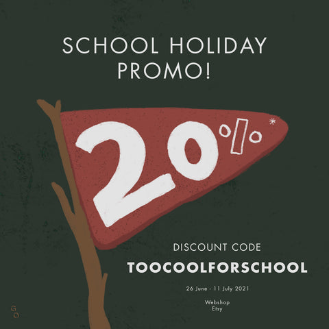 General object school holiday promo