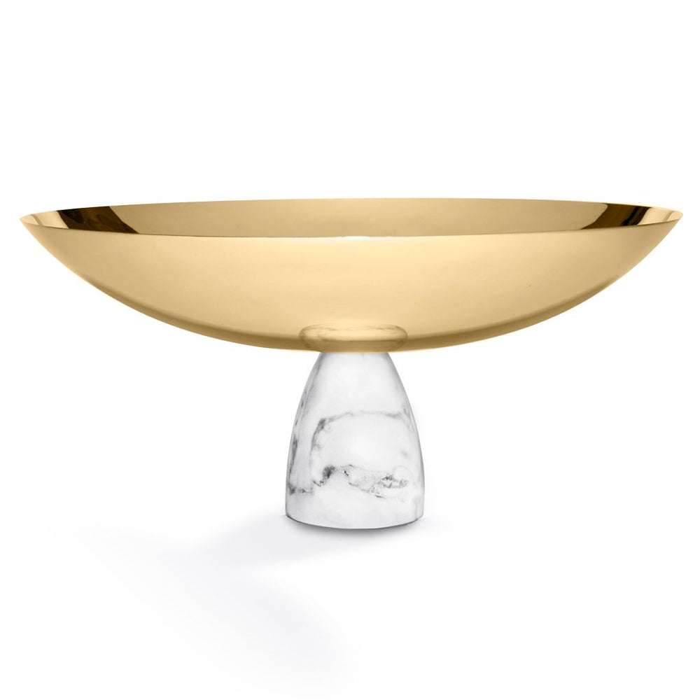 Coluna Fruit Bowl Marble & Gold - ANNA New York