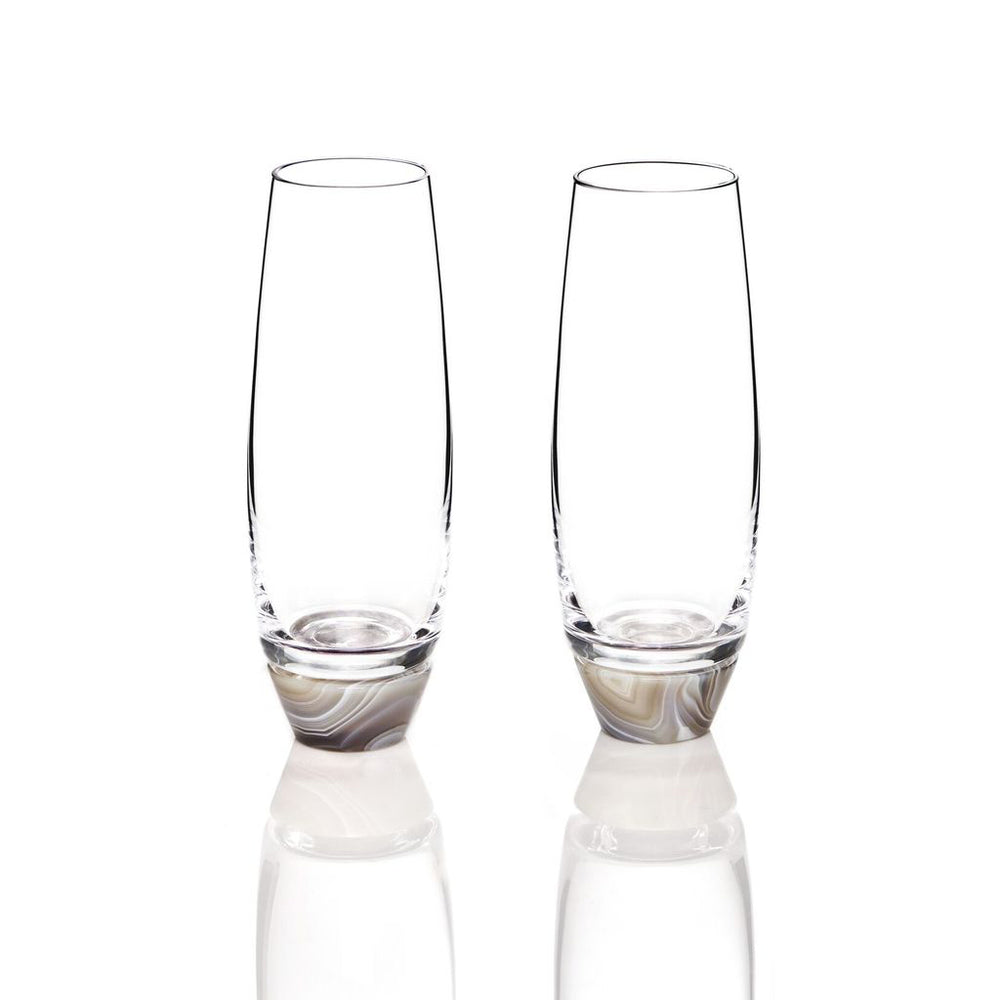 Load image into Gallery viewer, Elevo Champagne Glasses - ANNA New York