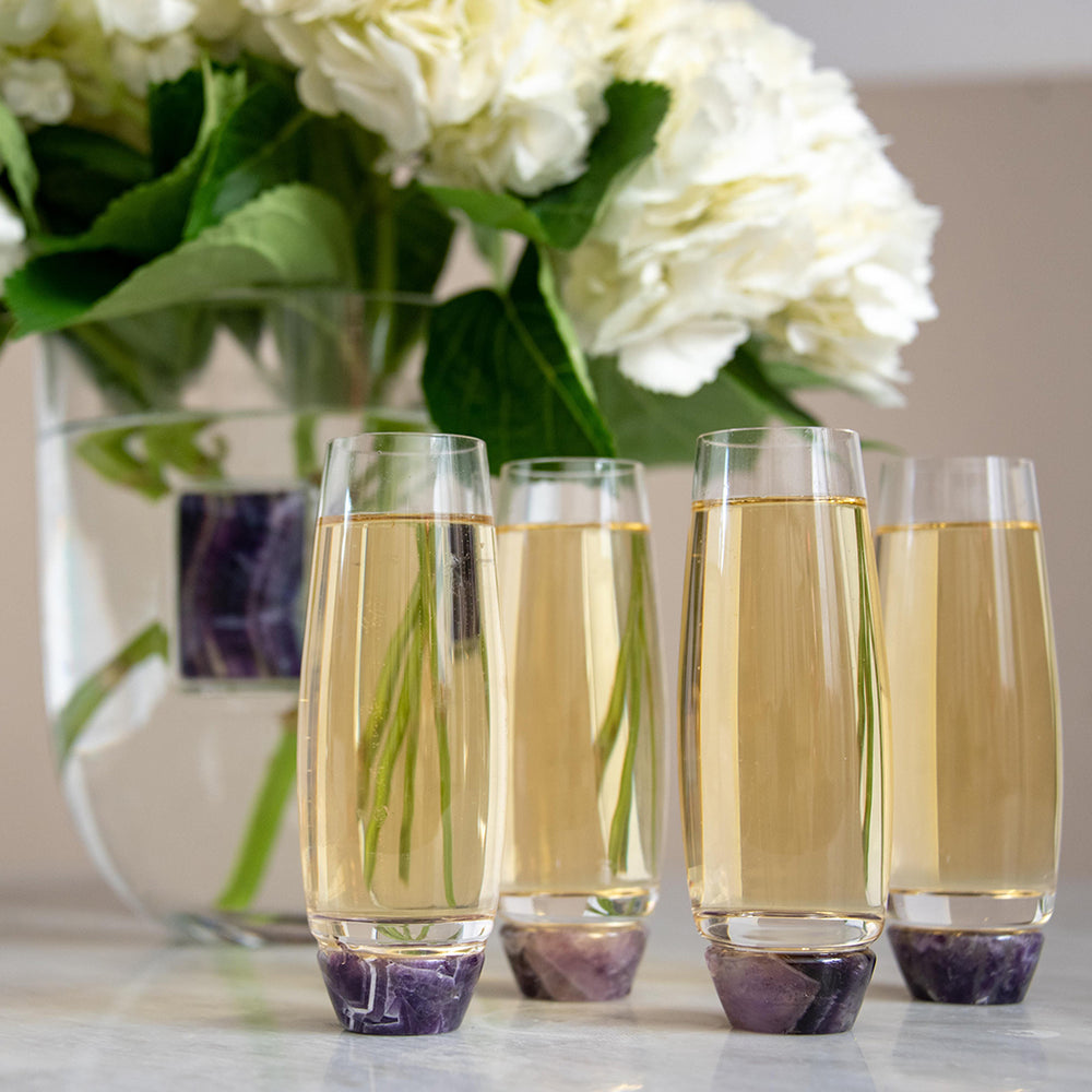 Elevo Champagne Glasses - ANNA New York