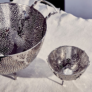 Espera Fruit Bowl Silver - ANNA New York