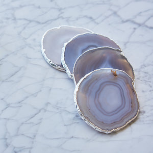 Lumino Gemstone Coasters - ANNA New York