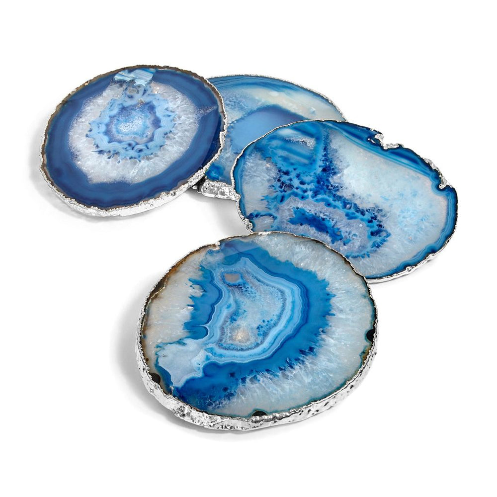 Load image into Gallery viewer, Lumino Gemstone Coasters - ANNA New York