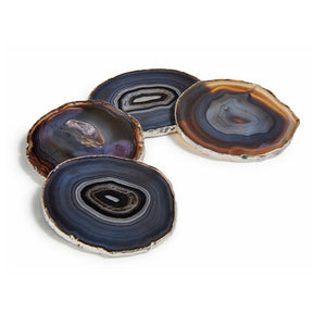 Load image into Gallery viewer, Lumino Gemstone Coasters