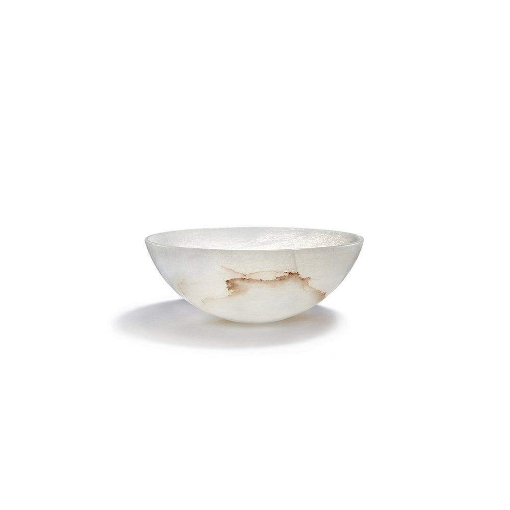 Tondo Bowl Alabaster - ANNA New York