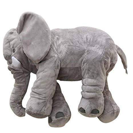 Image of Elephant Pillow for babies and toddlers - 24inches - lyndaskitchen