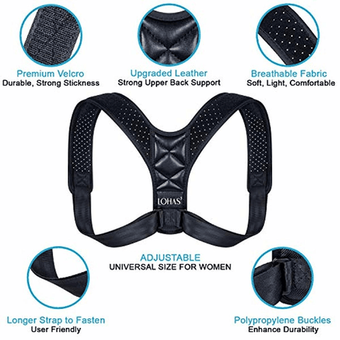 Posture Corrector for Women - lyndaskitchen