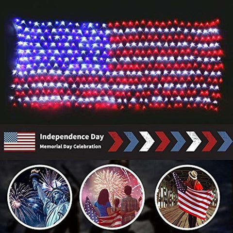 Image of LED American Flag - lyndaskitchen