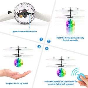 Flying Toy Ball Infrared Induction Helicopter Drone