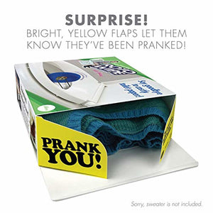 """Roto Wipe"" - Wrap Your Real Gift in a Prank Funny Gag Joke Gift Box -"