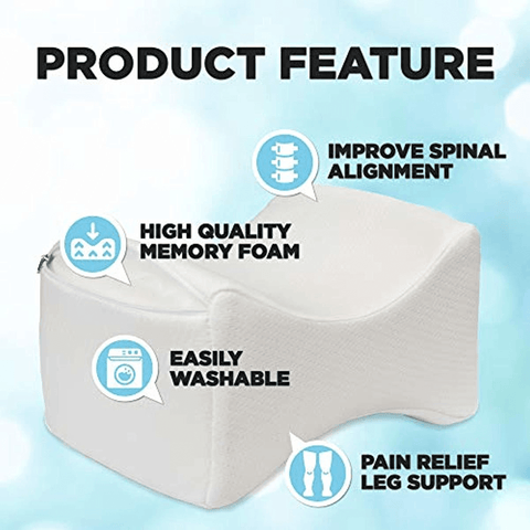 Orthopedic Knee Pillow for Sciatica Nerve Relief