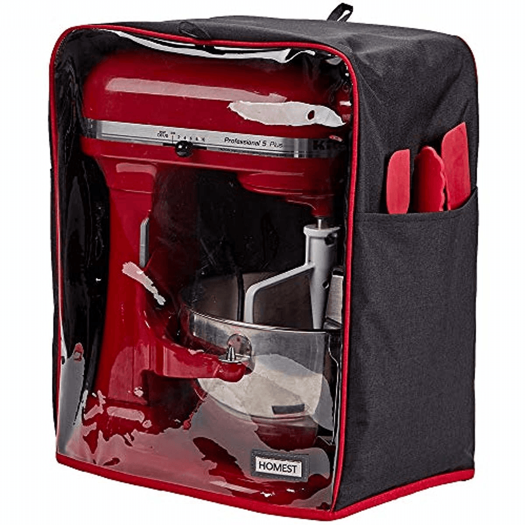 Visible Stand Mixer Dust Cover With Pockets Compatible