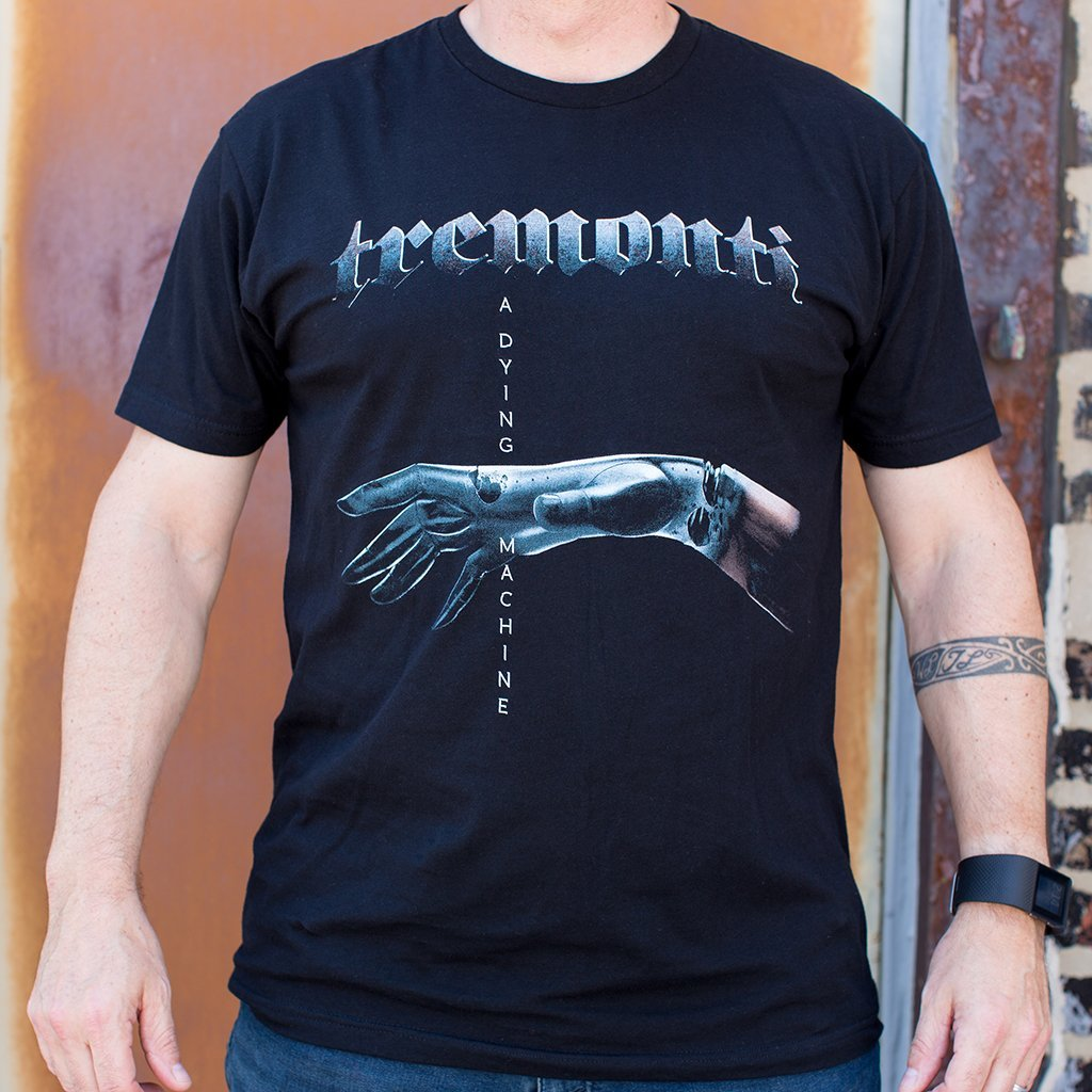 "Tremonti - ""A Dying Machine"" Cover T-Shirt"