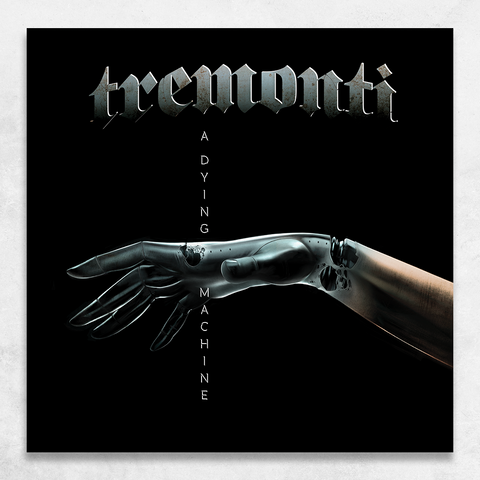 Tremonti: A Dying Machine CD + Signed Cover Card