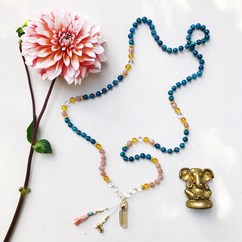 Co-Create a Mala Necklace with Online Questionnaire