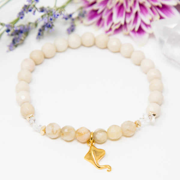 The Graceful Manta Ray Bracelet