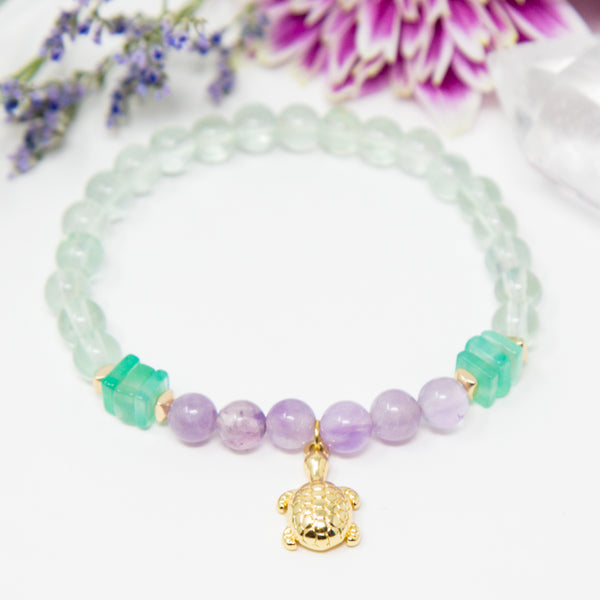 The Calm + Protected Turtle Bracelet