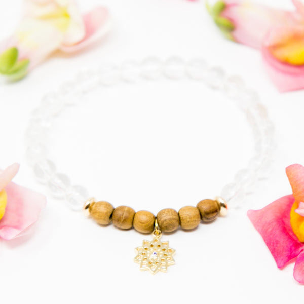 My Divine Connection: Crown Chakra Diffuser Mala Bracelet