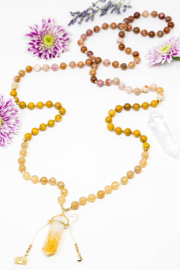 My Power + Protection Come From Within MeMala Necklace