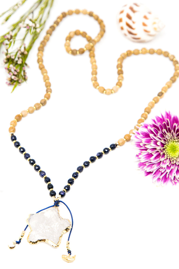 I Am Guided + Supported by the Divine Mala Necklace