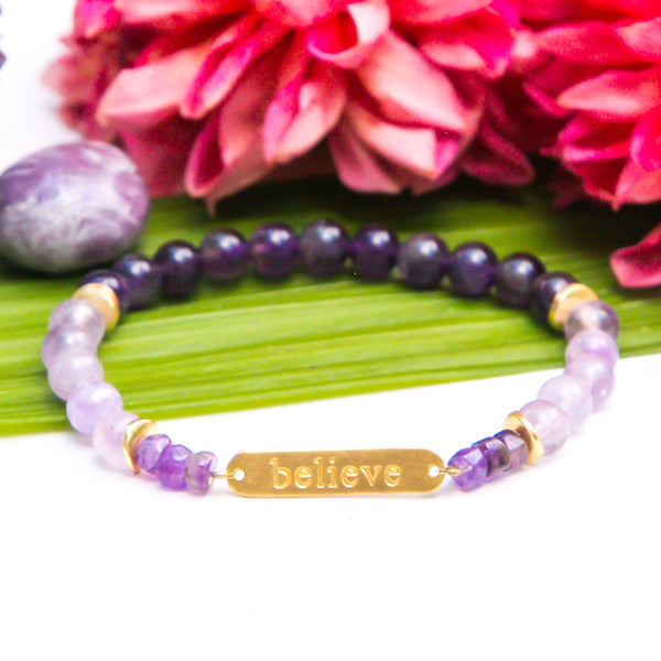 Believe Intention Bracelet