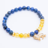 The Courageous Lion Mala Bracelet