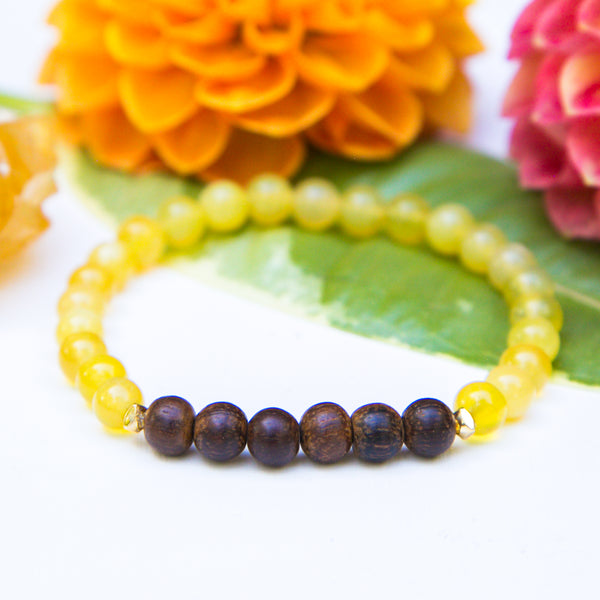 Courage Diffuser Mala Bracelet