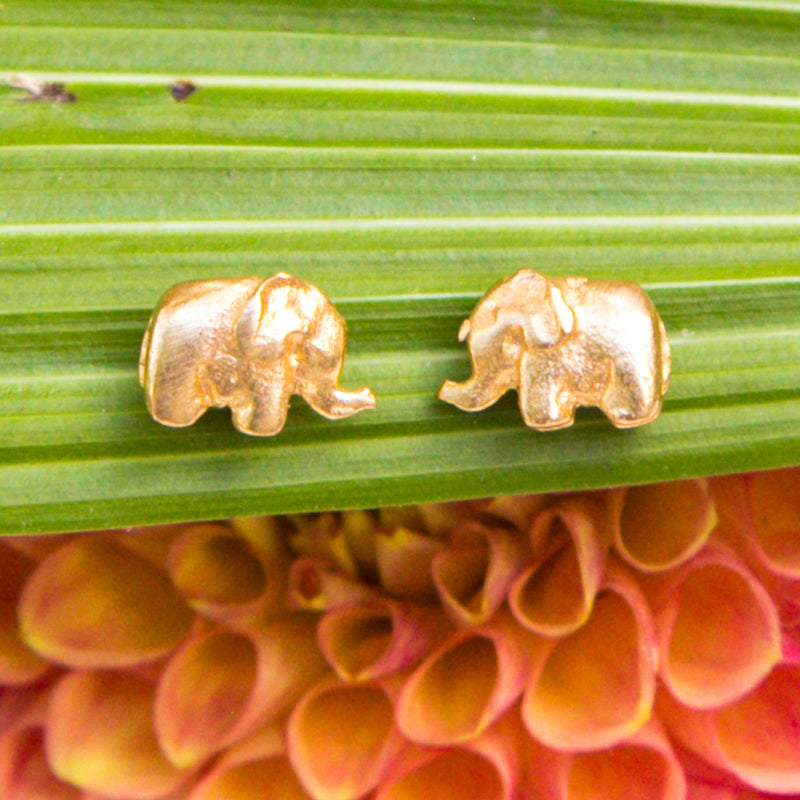 Elephant Loving Protection Earrings