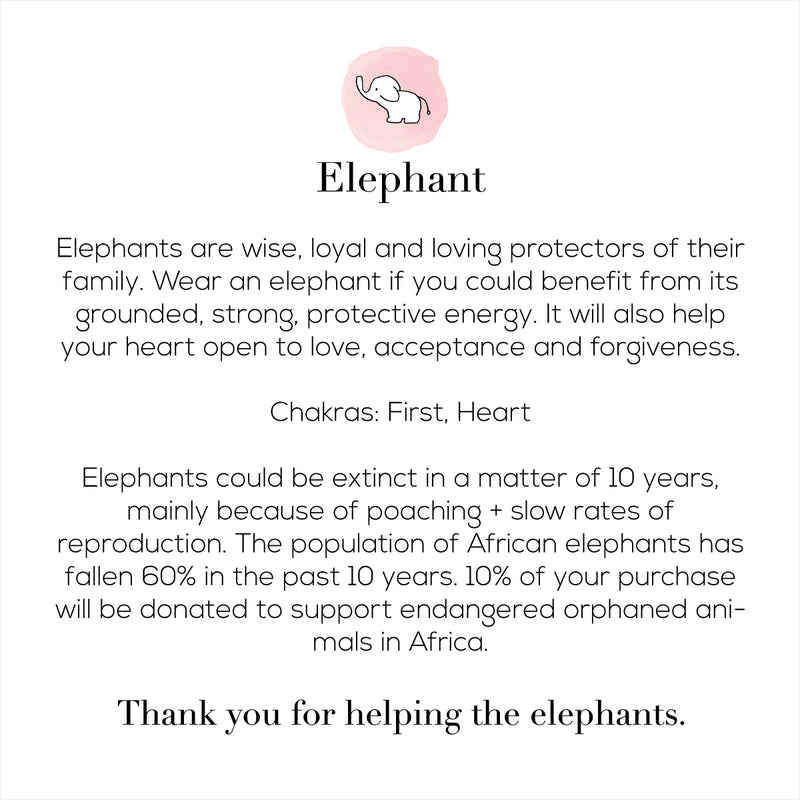 The Loving Elephant Necklace