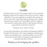 The Loving Giraffe Mala Bracelet