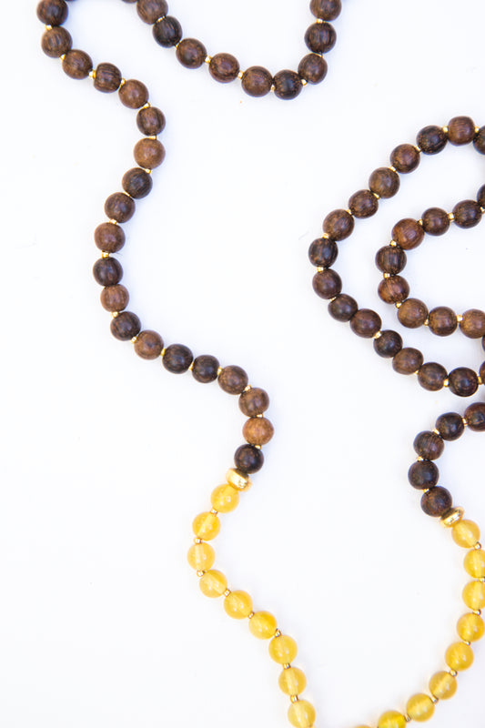 My Inner Child Diffuser Mala Necklace