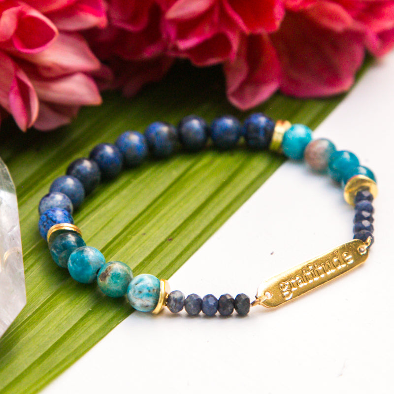 Gratitude Intention Bracelet