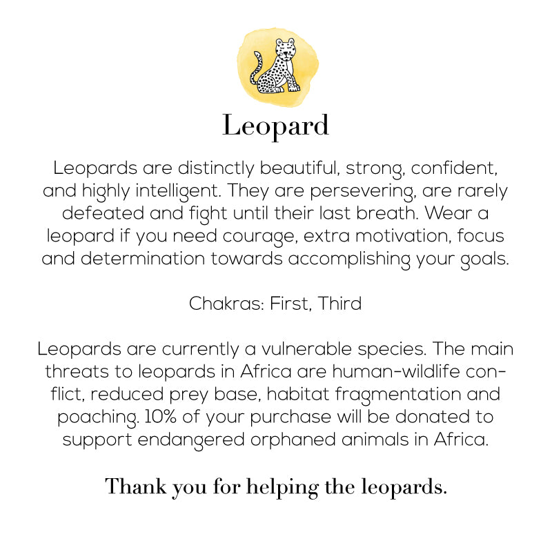 The Fearless Leopard Bracelet