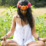 I Am a Divine Being Mala Necklace