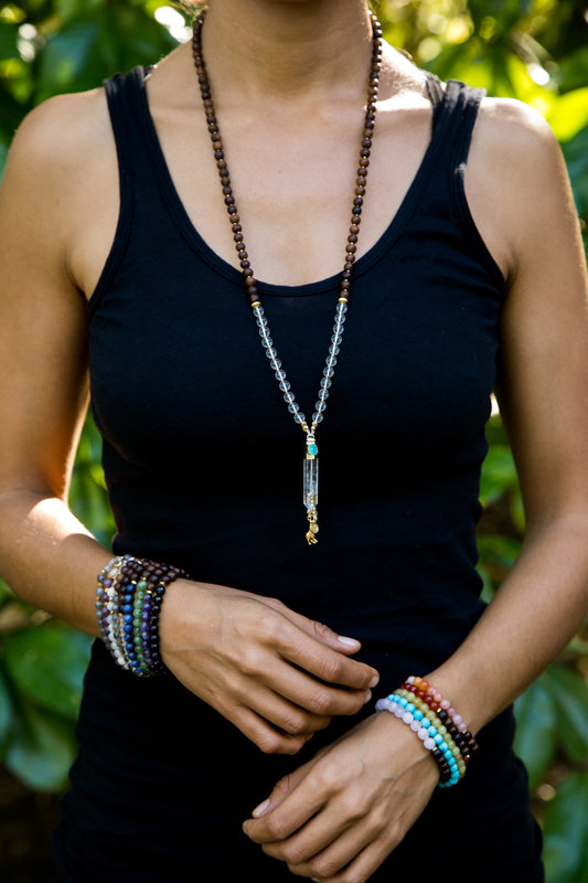 I Expand My Consciousness Mala Necklace