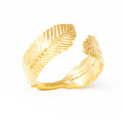 Mika Feather Ring