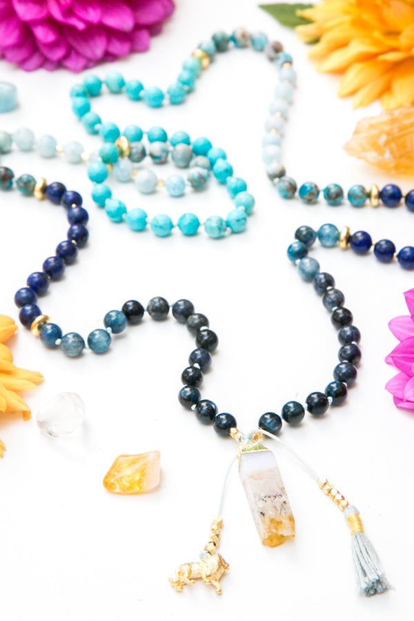 I Express My Truth Mala Necklace