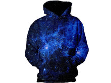 Load image into Gallery viewer, Star Blue Galaxy Hoodie