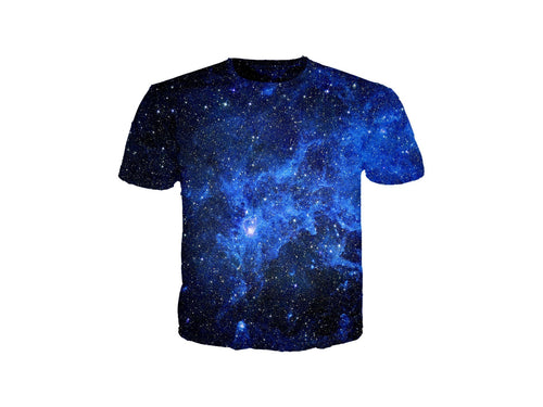 Star Blue Galaxy T-Shirt