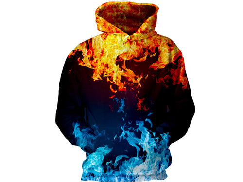 Fire with Ice Hoodie