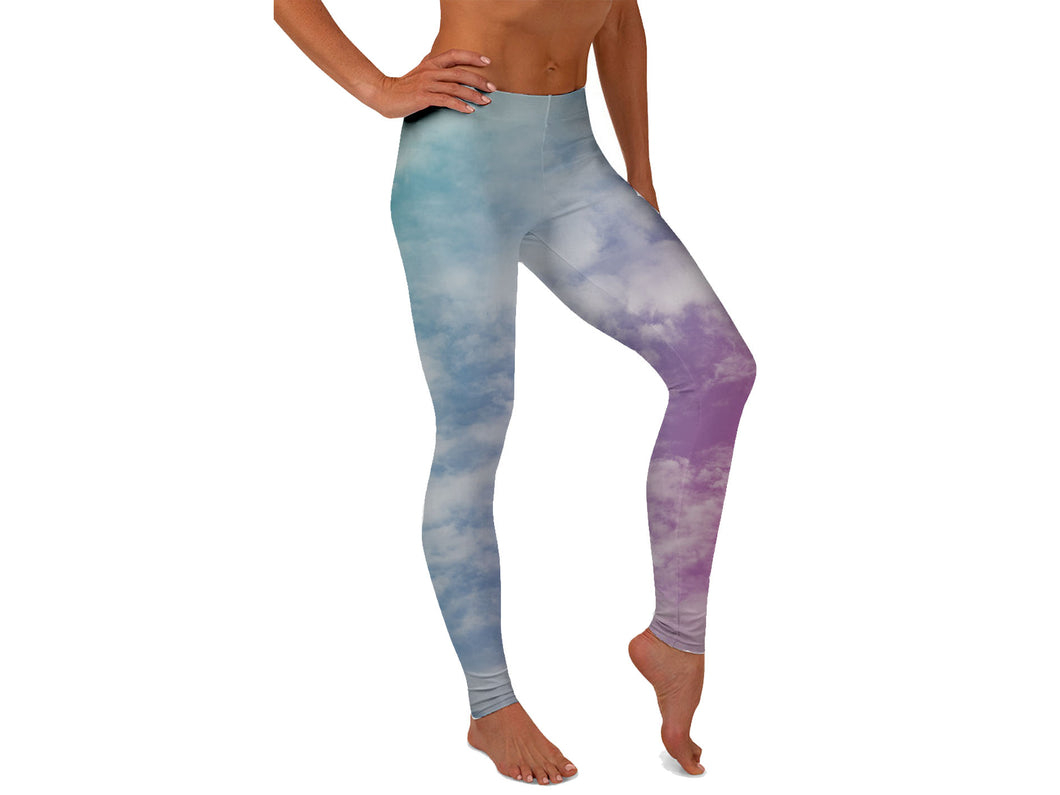 Cloudy Dreams Yoga Pants